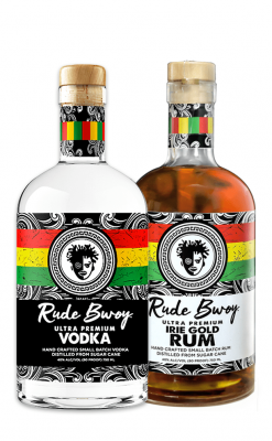 VODKA + IRIE GOLD RUM