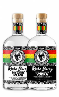 VODKA + IRIE WHITE RUM
